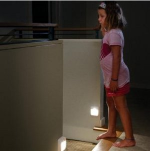 The Lowset Ever!Mr. Beams MB723 Battery-Powered Motion-Sensing LED Stick-Anywhere Nightlight, 3-Pack
