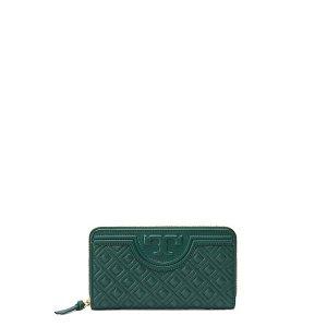 Tory Burch Fleming Zip Continental Wallet : Women's Wallets & Wristlets