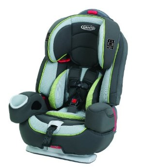 Graco Nautilus 80 Elite 3-in-1 Harness Booster, Go Green