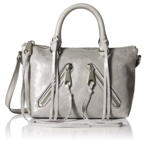 $69.00(reg.$195.00) Rebecca Minkoff Distressed Micro Moto Satchel Cross Body Bag