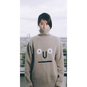 STEREO VINYLS [aw16 Jj X Sv] Turtleneck Knit Pullover