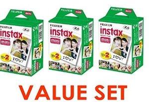 $31 Fujifilm Instax Mini Instant Film, 2 x 10 Shoots x 3Pack