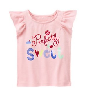 As Low As $3.5 + Free Shipping Kid's Tees Labor Day Sale @ Gymboree