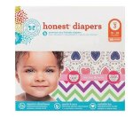 Honest Company Diapers Club Pack Confetti Heart + Chevron Size 3 (68 Count)