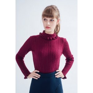 Highland Jumper (Maroon) - Miss Patina - Vintage Inspired Fashion