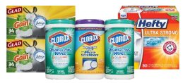 Up to 25% Off Select Cleaning Products & Trash Bags @ Amazon
