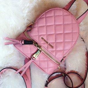 $154.8(Org. 258) MICHAEL Michael Kors Rhea Zip Mini Messenger Backpack @ macys.com