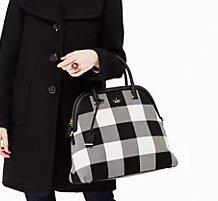 25% Off Cameron Street Plaid Handbags @ kate spade