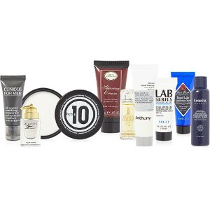 Variety FREE! 9 pc men's sampler with any $50 purchase