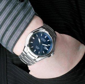 Citizen Men's BM7170-53L Titanium Eco-Drive Watch