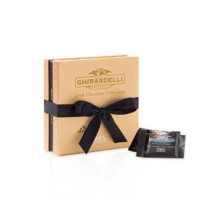Intense Dark Chocolate Collection Gold Gift Box