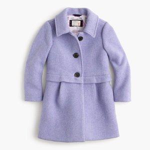 Girls' Stadium Cloth A-Line Coat : Girls' Jackets & Coats   J.Crew