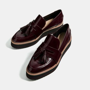 FLATFORM LOAFERS - View all-SHOES-WOMAN | ZARA United States