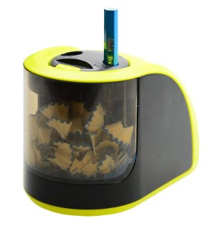 Raniaco Electric Pencil Sharpener with 2 Different Sizes of Holes