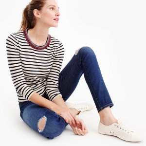 Tippi beaded sweater : Women Pullovers | J.Crew