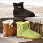 UGG Mini Bailey Button Bling @ Shoebuy.com