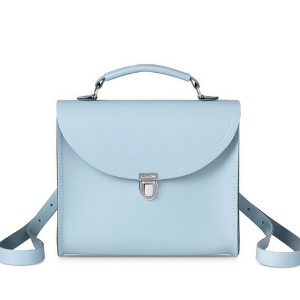 Periwinkle Blue Poppy Backpack | The Cambridge Satchel Company