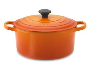 $179.95Le Creuset Signature Cast-Iron Round Dutch Oven, 3 1/2-Qt., Flame
