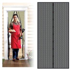 Trademark Home Auto Open and Close Magnetic Screen Door