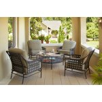 Hampton Bay 5 Piece Patio Furniture Set
