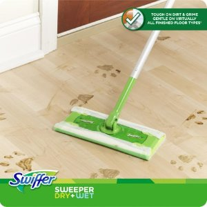 Swiffer Sweeper Floor Mop Starter Kit | Jet.com