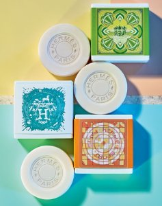 $66 HERMÈS Limited Edition Gift Set Comprised of 3 Cologne Soaps @ Bergdorf Goodman