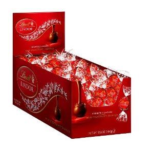 Extra 25% Off Lindt LINDOR Milk Chocolate Truffles