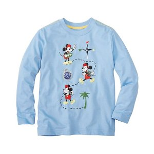 Boys Disney Mickey Mouse Tee In Supersoft Jersey | Boys New Arrivals Tops