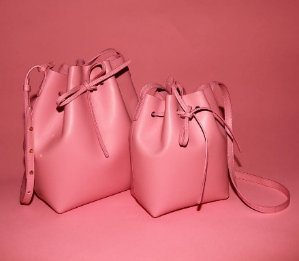 New In MANSUR GAVRIEL Mini Mini bucket bag @ Net-A-Porter