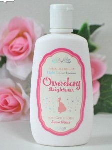 $8.87 One Day Brightener Body Face Lotion  120ml