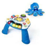 Baby Einstein - Discovering Music Activity Table with BONUS Octoplush Toy