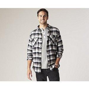 Men's Flannel Button Down Shirt - Tops & T-Shirts | Sperry