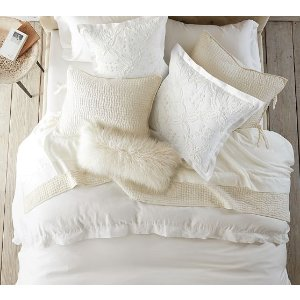 Pick-Stitch Handcrafted Quilt & Sham | Pottery Barn