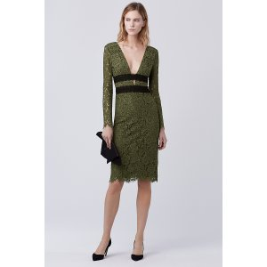 DVF Viera Lace Dress | Landing Pages by DVF