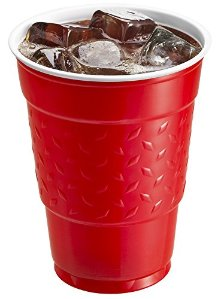 $6.57 Hefty Ultimate Easy Grip Cups 18 Ounce, 150 Count
