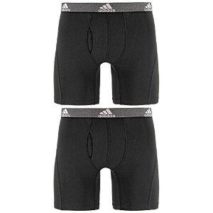 adidas 男士 Relaxed Performance Climalite 平角裤两件组