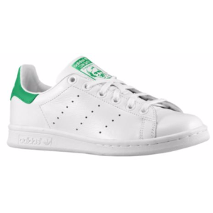 adidas Originals Stan Smith - Boys' Grade School - Casual - Shoes - Core White/Core White/Fairway
