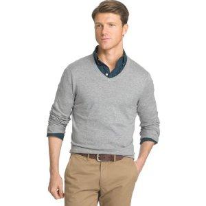 Men's IZOD Fieldhouse Classic-Fit Wool-Blend V-Neck Sweater