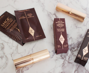 Free Cosmetic Bag + One Deluxe Sample with $275 Charlotte Tilbury's Purchase @ Bergdorf Goodman