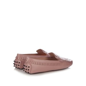 Heaven fringed-leather loafers | Tod's