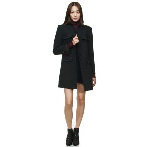 [Mademoiselle Chouette with Chae Jung An] Highneck Coat