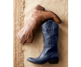 Frye Carson Pull-On Smoke Leather - 6pm.com