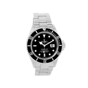 Rolex Submariner 16610 Stainless Steel Black Dial Mens 40mm Watch | Rolex | Buy at TrueFacet