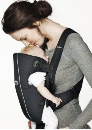 BABYBJORN Baby Carrier Original - Dark Blue, Cotton