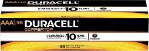 Duracell Batteries 36 Pack, AA or AAA