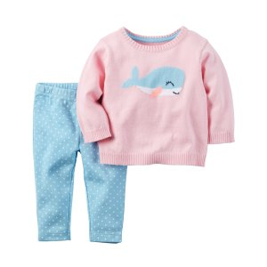 Baby Girl 2-Piece Little Sweater Set | Carters.com
