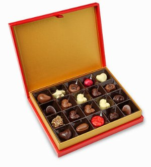 30% Off Chinese New Year Chocolate Gift Box 20 pc. @ Godiva