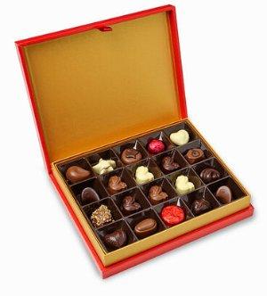 $41.6 + 免费礼物独家!中国新年巧克力礼品盒