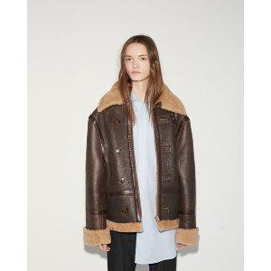 VETEMENTS | Oversized Shearling Jacket |