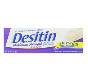 Desitin Diaper Rash Paste Maximum Strength, 4-Ounce